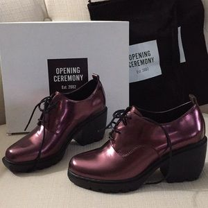 Opening ceremony grunge oxford bootie like new